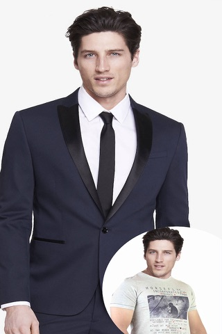 Man Fashion Suit Photo Montage screenshot 3