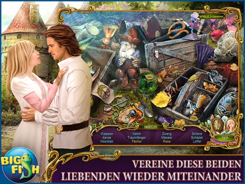 Dark Romance: The Swan Sonata HD - A Mystery Hidden Object Game screenshot 2