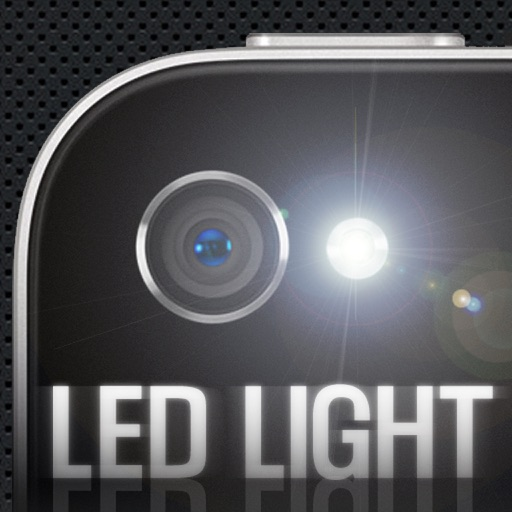 LED Light - for iPhone4, 4S, 5 LED フラッシュライト
