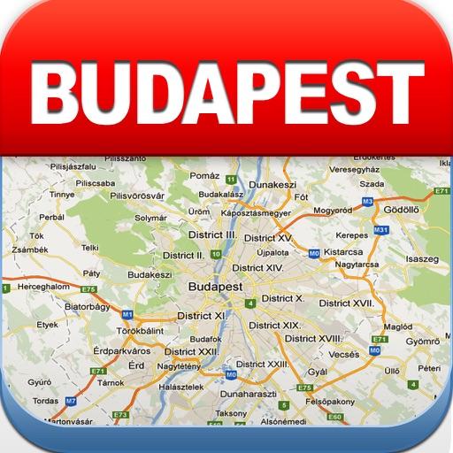 【旅行地图】布达佩斯的离线地图 - 城市地铁机场