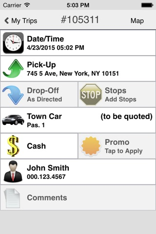 State Car Service screenshot 4