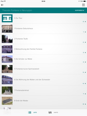 Museum Neuruppin unterwegs Screenshot