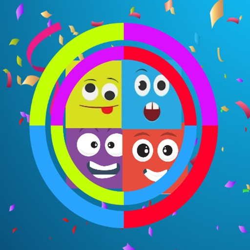 Color Wheels Party: Color Switch Fun! iOS App