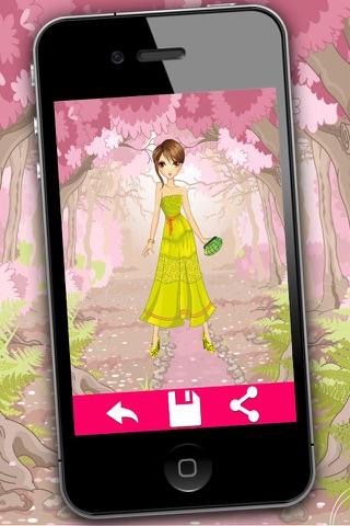 Fashion dress for girls - Games of dressing up fashion girls screenshot 2