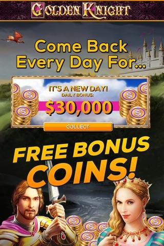 Golden Knight: FREE Vegas Slot Game screenshot 3