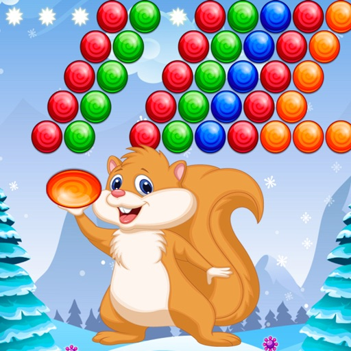 Squirrel Bubble Shooter Free iOS App