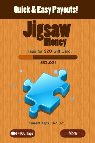 Jigsaw Money - Make Money Tapping screenshot 3