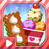 Homemade Frozen Treats : Tasty Ice Cream Makers inwaffle cup with chocolate & cherry simulation Game
