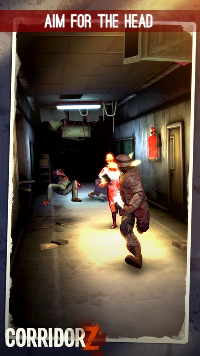 Corridor Z - Inverted Zombie Runner Screenshot