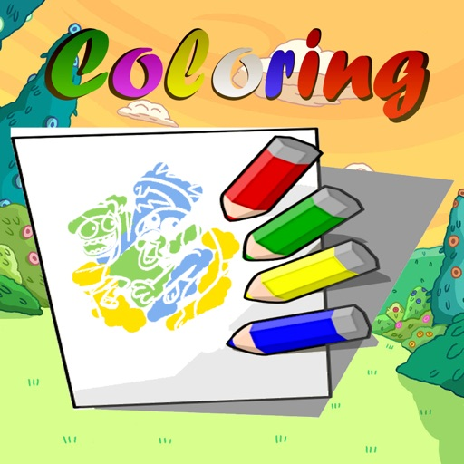 Kids Adventure Coloring Book for Fun Everytime iOS App