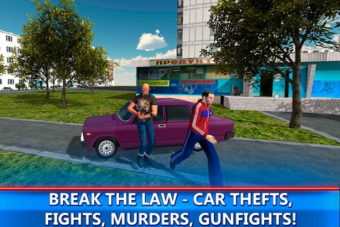 Russian Mafia Crime City 3D Full screenshot 2