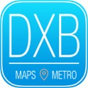 Dubai Travel Guide with Metro Map and Route Planner Navigator icon