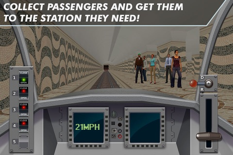 Subway Train Simulator 2017 screenshot 2