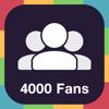 4000 Fans - Obtén más me gusta en Instagram y aumenta tus seguidores en Instagram.