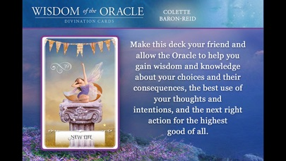 download Wisdom of the Oracle Divination Cards - Baron-Reid appstore review