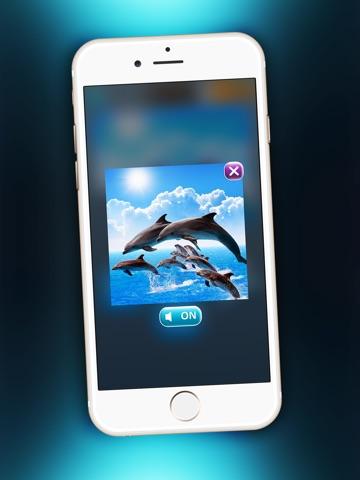 Игра Дельфин Головоломка Забава - Магия Игра Для Детей с Красивый Море Животное Картинки