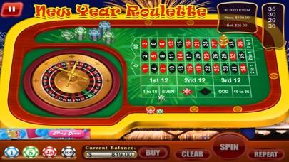 ラスベガスのカジノグランドルーレット新年の紙吹雪 screenshot1