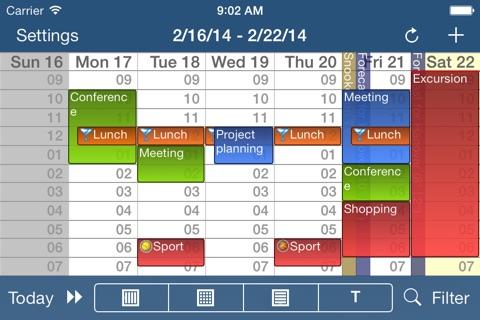 CalenGoo Calendar screenshot 3