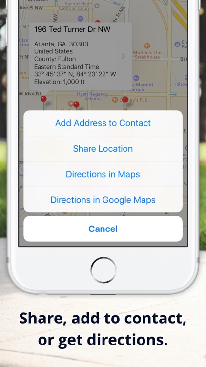 Drop A Pin Map GPS Address Elevation Finder By Zoltan Paczolay - Elevation finder app