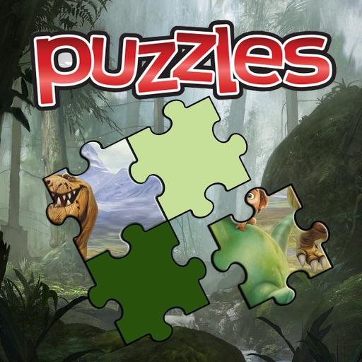Cartoon the Jigsaw Puzzle Good Kids Dinosaur iOS App