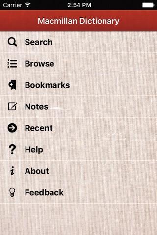 Macmillan Primary Australian Dictionary screenshot 1