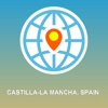 Castilla-La Mancha, Spain Map - Offline Map, POI, GPS, Directions