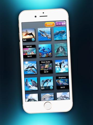 Дельфин Головоломка Забава - Магия Игра Для Детей с Красивый Море Животное Картинки на iPad