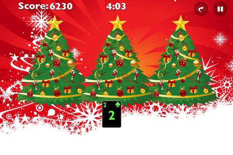 Tri Xmas Tree Solitaire screenshot 3