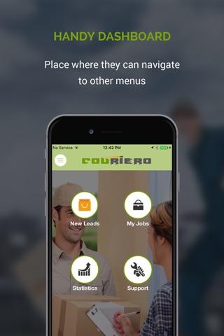 Couriero Partner screenshot 2