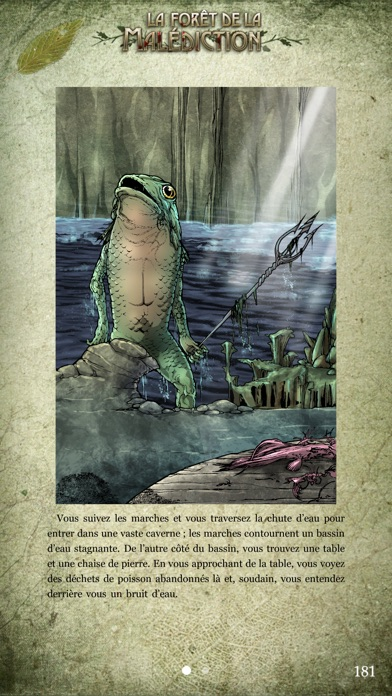 Fighting Fantasy: La Forêt de la MalédictionCapture d'écran de 3