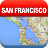 San Francisco Offline Map - Aéroport Metro City