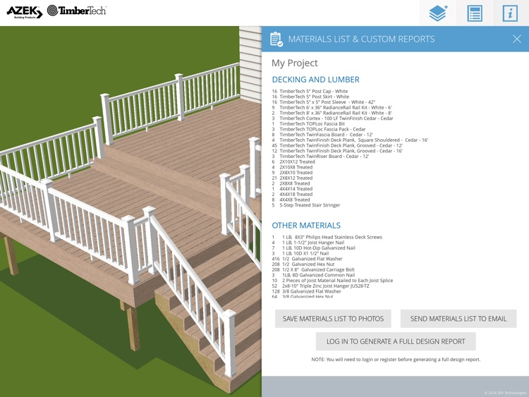 Timbertech Deck Designer Screenshot 4