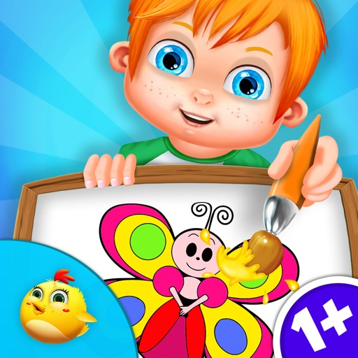 Learn To Draw For Toddlers iOS App