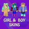 PE Girls & Boys Skins for Minecraft Pocket Edition