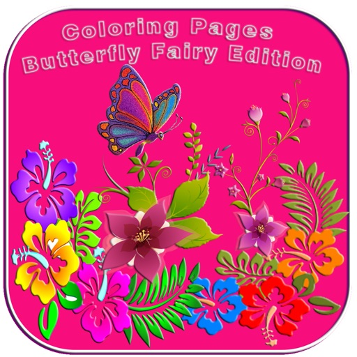 Coloring Pages Butterfly Fairy Edition iOS App