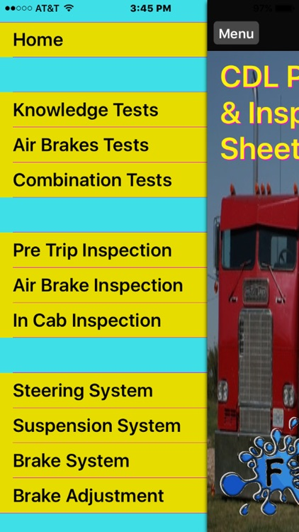 CDL Practice Tests & Inspection Sheets by Jacob Dobbs