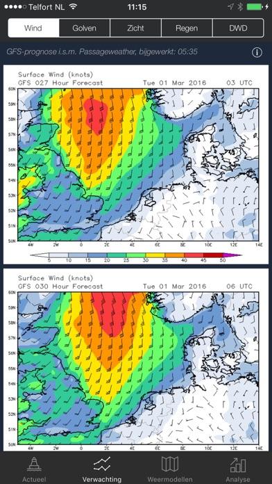 Sea Weather - Maritime app, forecasts, warnings Screenshot 2