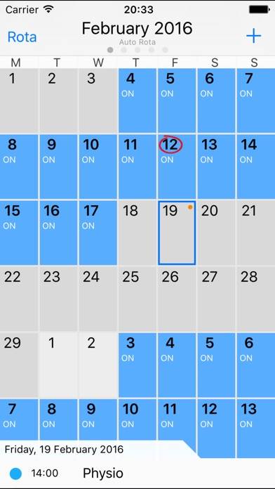 how to delete work calendar on iphone