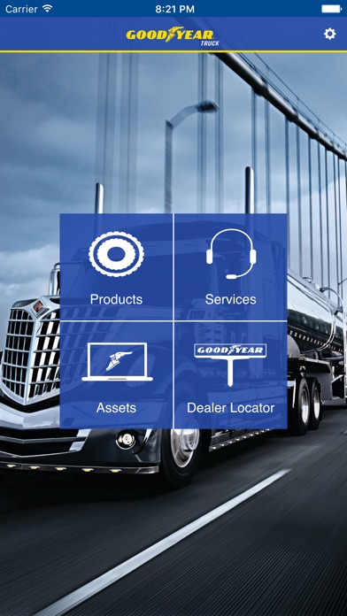Screenshot of Goodyear Truck for iPhone1
