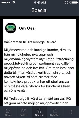 Trelleborgs Bilvård screenshot 3
