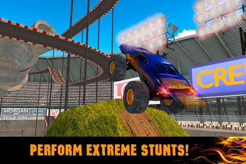Extreme Monster Truck Stunt Racing 3D screenshot 2
