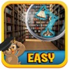 Find Hidden Object : County Library – search hidden scenes to find differences in objects