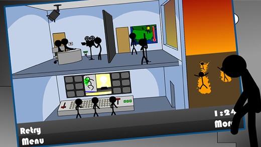 Deadly Room - Stickman Edition Screenshot
