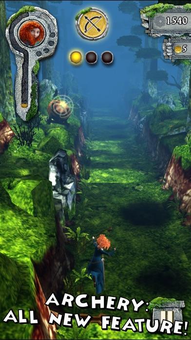 Temple Run: メリダとおそろしの森のおすすめ画像1