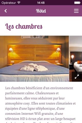 Hôtel Restaurant Spa Verte Vallée screenshot 2