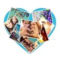 Shape Fotocollage: pic collage erstellen, liebe herz foto rahmen & foto collagen app