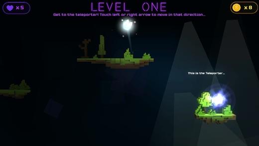 Light Touch - Pixel Block Escape Screenshot