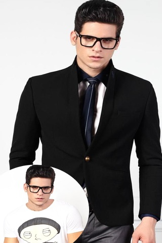 Man Fashion Suit Photo Montage screenshot 4