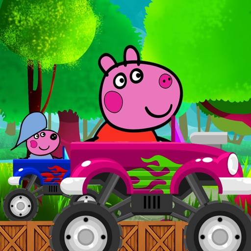Peppie Driver Pig iOS App