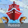 i-Boating:Russia rivers, lakes & waterways - Nautical/Marine Charts & Fishing Maps lakes rivers streams